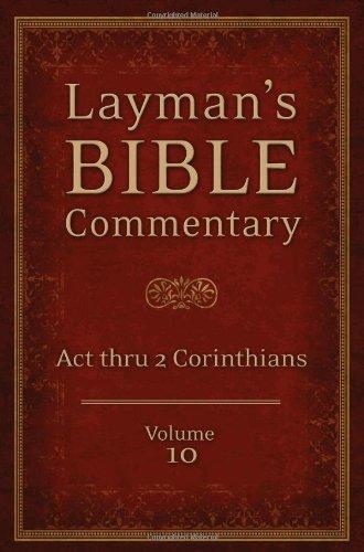 Act thru 2nd Corinthians: Volume 10