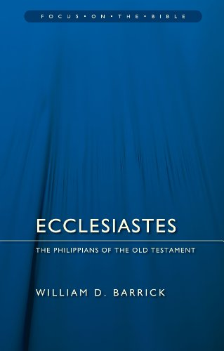 Ecclesiastes: The Philippians of the Old Testament