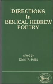 Directions in Biblical Hebrew Poetry