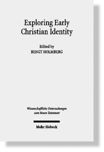 Exploring early Christian identity