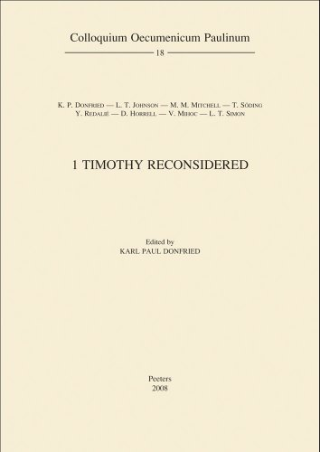 1 Timothy Reconsidered